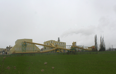 Seneca Biomass Power Generation plant