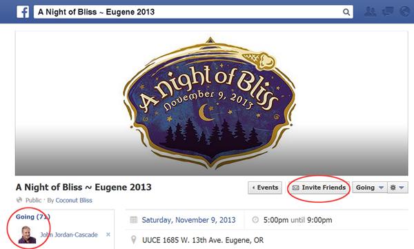 Facebook Events Instruction Step 2