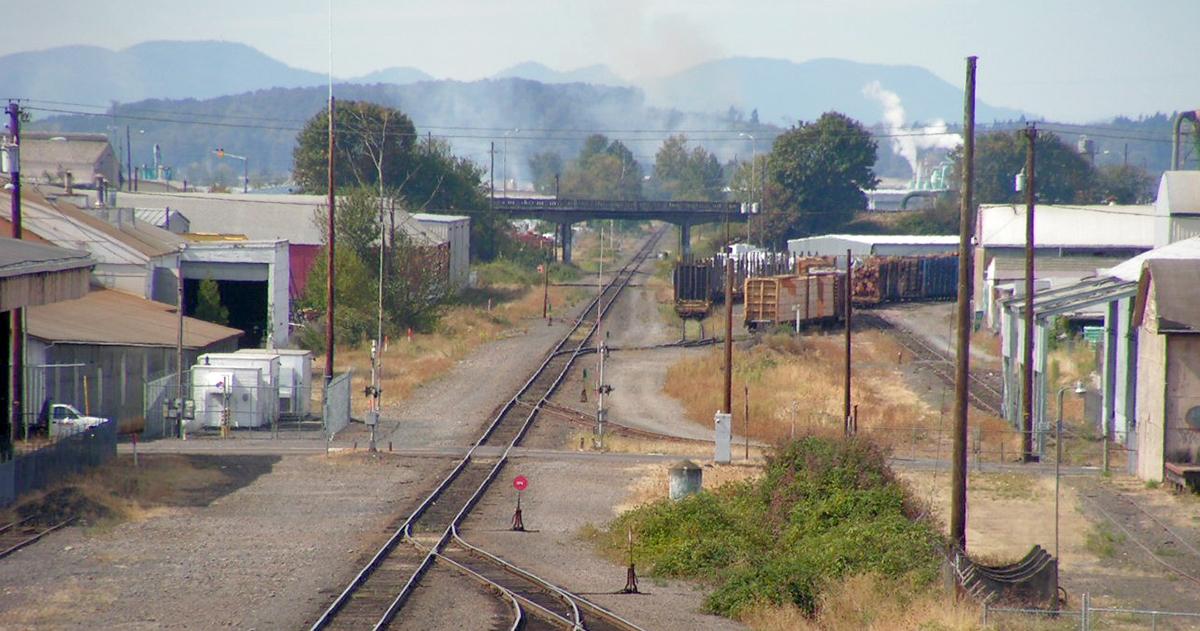 Railyard_HighAngle_w_Air_Pollution