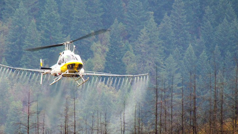 HelicopterSpraying