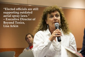 Lisa Arkin, Beyond Toxics Exec. Director, shared her expertise with the EJ Task Force