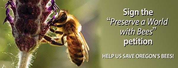 Sign the Preserve A World Without Bees petition TODAY!