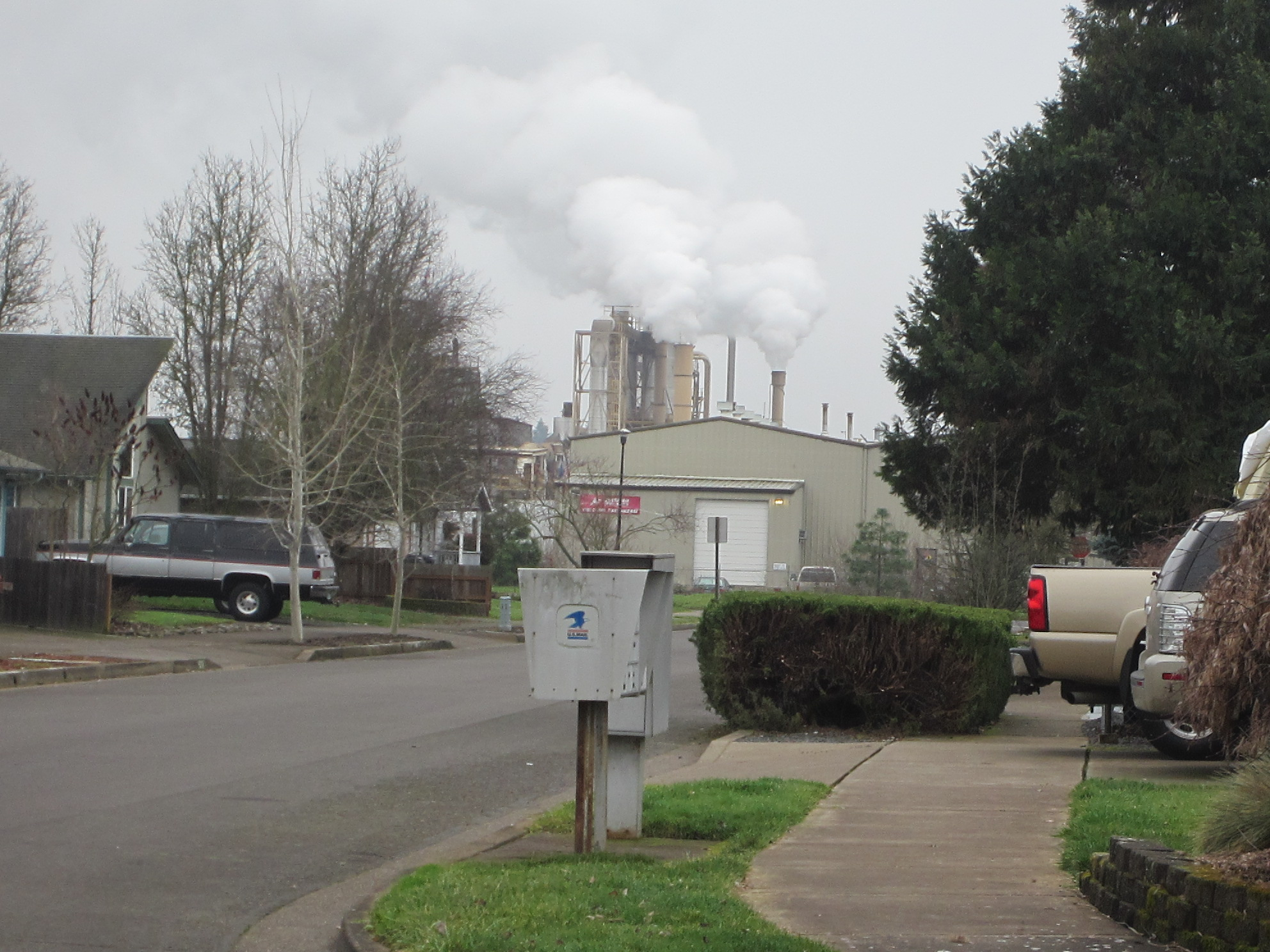 Toxic air fumes less than a block from homes in West Eugene
